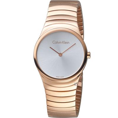 Calvin Klein  極簡石英錶(K8A23646)