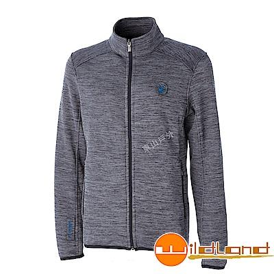 Wildland 荒野 0A52616-93深灰色 男雙色輕量保暖外套