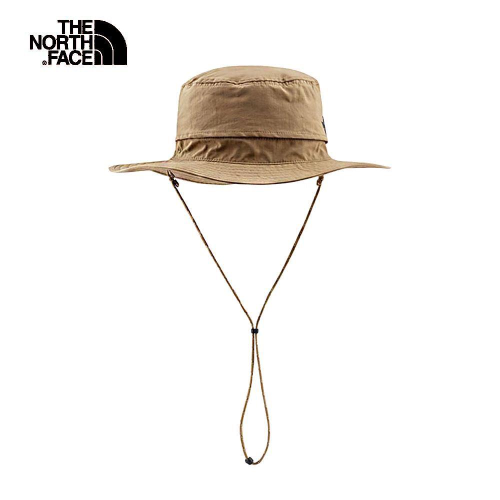 The North Face北面男女款卡其色吸濕排汗遮陽帽 CF7TAL5