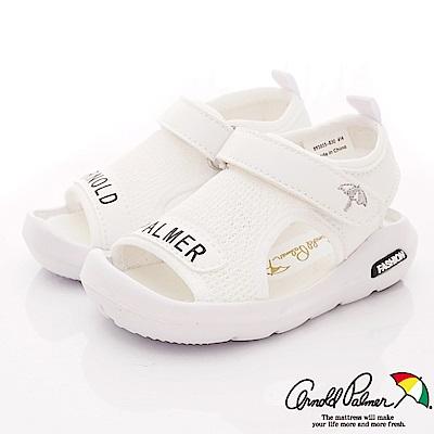 雨傘牌 專櫃超輕量休閒涼鞋款 EI93855淺灰色(小童段)