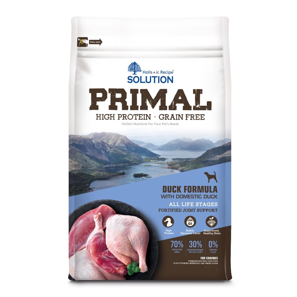 耐吉斯 源野高蛋白 無穀全齡犬 鴨肉配方 3磅