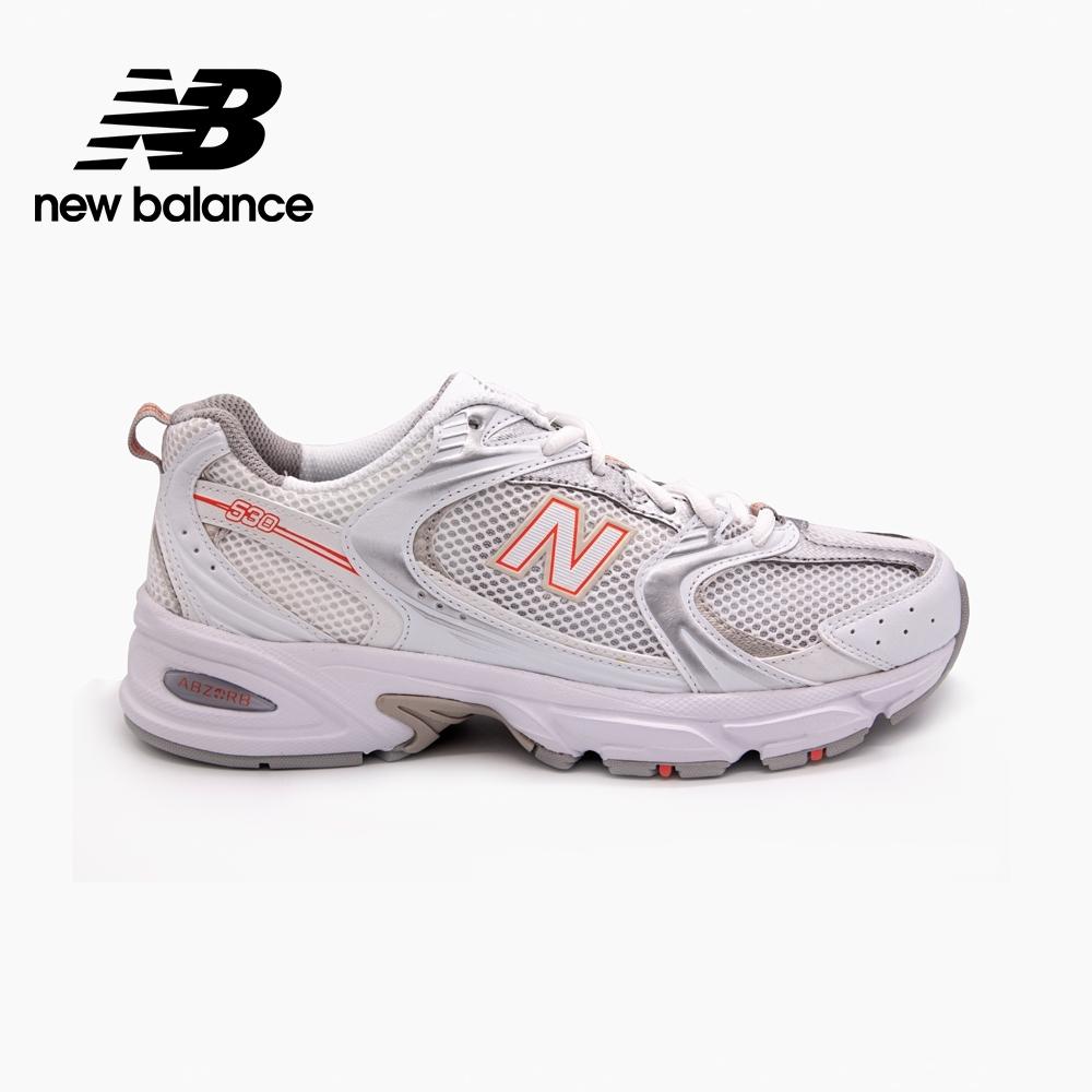 【New Balance】復古運動鞋_中性_白橘_MR530AC-D楦