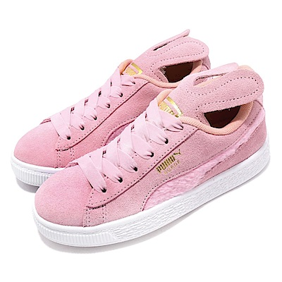 Puma 休閒鞋 Suede Easter AC 穿搭 童鞋