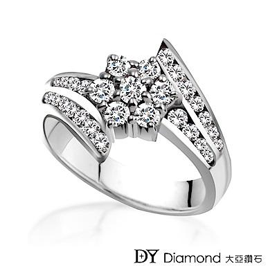 DY Diamond 大亞鑽石 18K金 華麗造型鑽石女戒