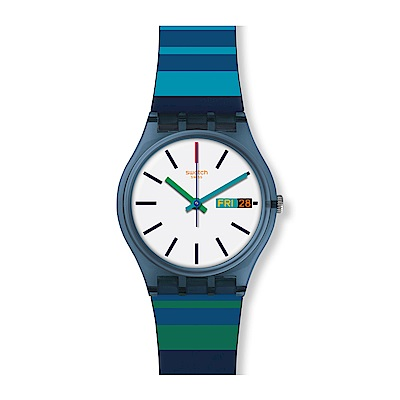 Swatch COLOR CROSSING 五彩繽紛手錶