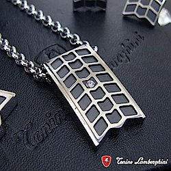 藍寶堅尼Tonino Lamborghini IMPRONTA系列 項鍊 防抗過敏