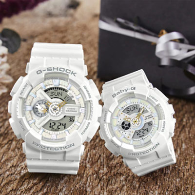 G-SHOCK & BABY-G 浪漫星空對錶(LOV-17A-7)
