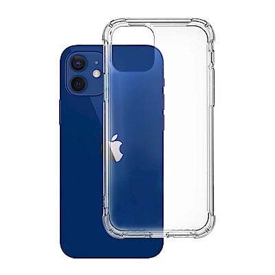 iPhone 12 透明 加厚四角 防摔 氣囊 手機殼 防摔殼 手機保護殼 (iPhone12手機殼 iPhone12保護殼 )