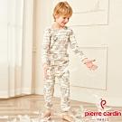 皮爾卡登 男兒童純棉長袖衛生衣褲(KD270011北極熊)