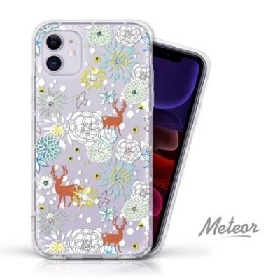 Meteor iPhone 11 奧地利水鑽殼 - 叢林斑比