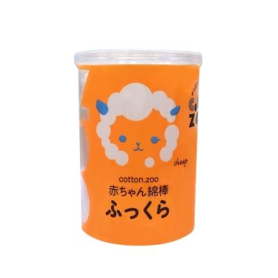 【COTTON ZOO】 大頭超柔軟清潔棉棒(120支入)