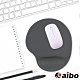 aibo 矽膠舒適護腕鼠墊(台灣製造)-時尚灰 product thumbnail 1