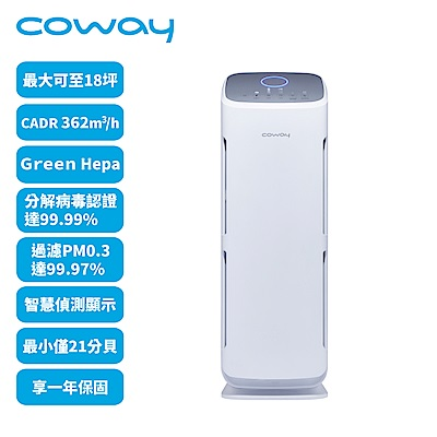 Coway綠淨力直立式空氣清淨機 AP-1216L