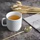 Homely Zakka-簡約北歐ins風時尚馬克杯/咖啡杯/早餐杯_優雅白 product thumbnail 1
