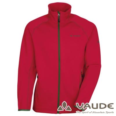 【德國VAUDE】男款吸溼排汗細刷毛彈性保暖外套VA-05335暗紅