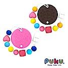 【PUKU】Baby GaGa餅乾固齒器(含鍊夾/收納盒)