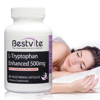 美國BestVite 必賜力色胺酸加強膠囊1瓶 (60顆)