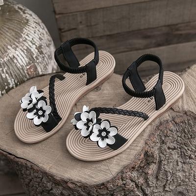 KEITH-WILL時尚鞋館-獨賣玩美潮流花朵涼鞋(涼鞋/涼跟鞋)(共1色)
