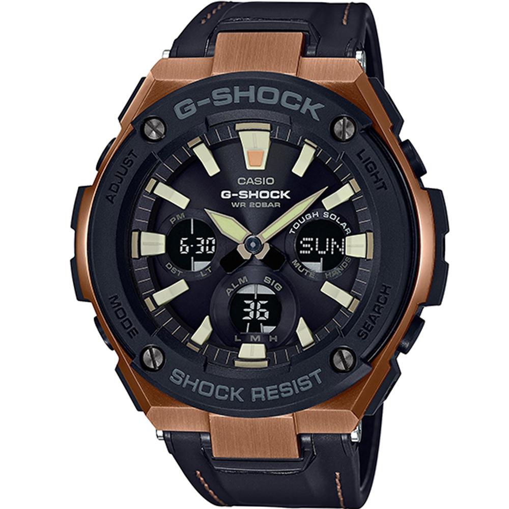 G-SHOCK 太陽能耐衝擊運動腕錶(GST-S120L-1A)52.4mm