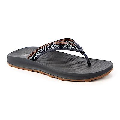 美國Chaco。男 越野沙灘夾腳拖鞋CH-PLM01HF43 (瞬光水綠)