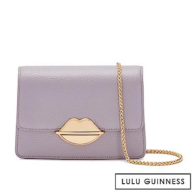 LULU GUINNESS POLLY 側背包 (紫)