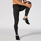 【KISSDIAMOND】新創高彈力速乾拉鍊口袋運動壓縮褲-1070
