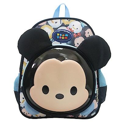 DF童趣館正版迪士尼Tsum Tsum立體3D直式後背書包-共2色