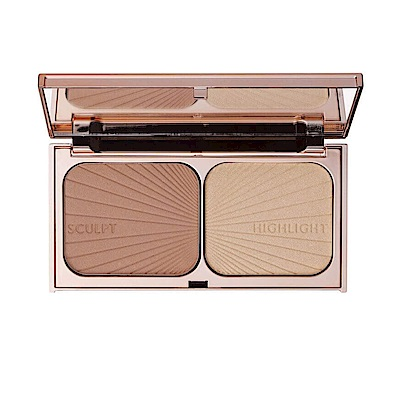 Charlotte Tilbury 修容打亮盤 #LIGHT TO MEDIUM  16 g