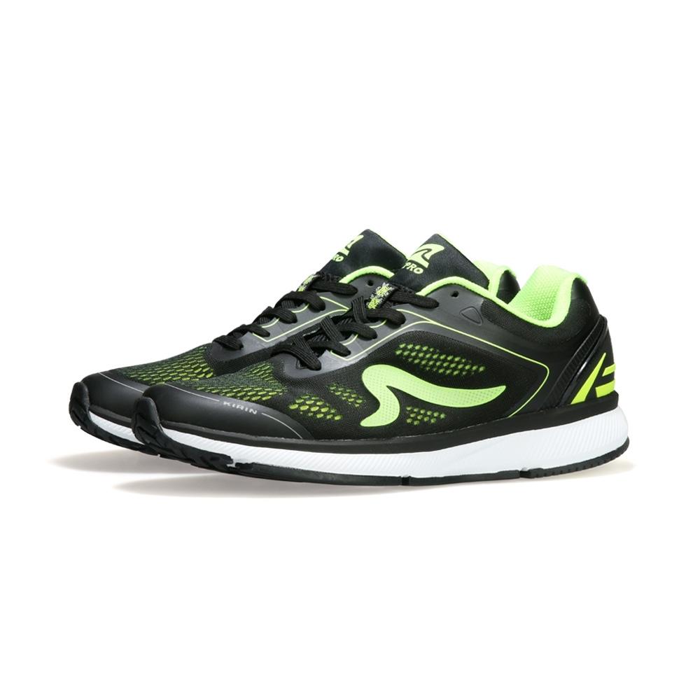 【ZEPRO】男子KIRIN系列減震耐磨運動跑鞋II代-綠忍者