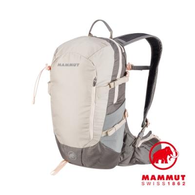 【Mammut 長毛象】Lithia Speed 15 登山後背包 亞麻/鋼鐵灰 #2530-03131