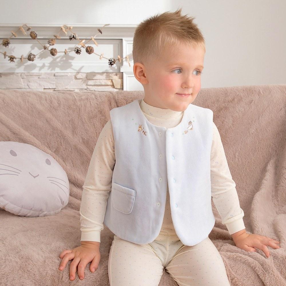 奇哥 小草比得舖棉背心(1-3歲)