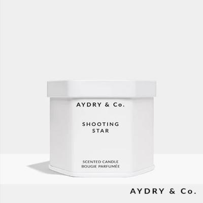 美國 AYDRY & CO. 檸檬馬鞭草 天然手工香氛 極簡純白錫罐 99g
