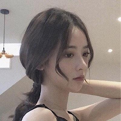 米蘭精品 假髮片真髮絲-3D瀏海35cm頭頂補髮女假髮母親節禮物73uh15