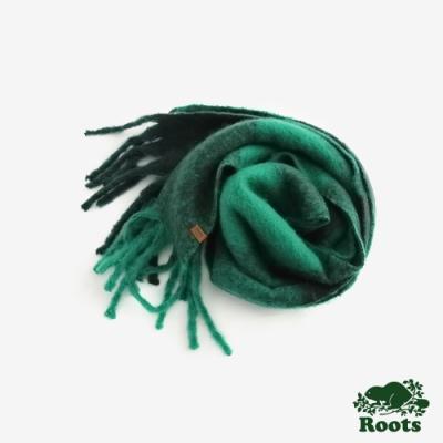 配件-經典格紋長條圍巾-綠色