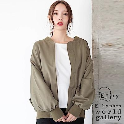 E hyphen 寬版MA-1夾克外套