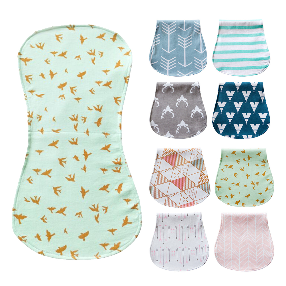 colorland【4入】嬰兒餵奶巾 三層打嗝巾