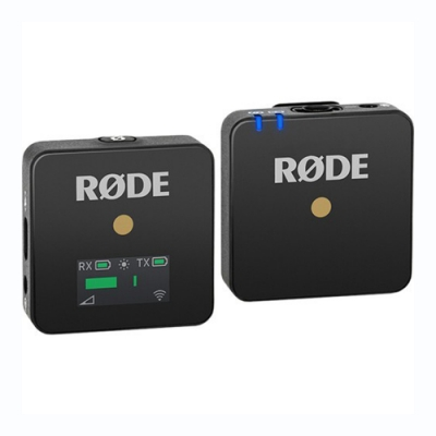 RODE Wireless GO 微型無線麥克風 黑色款 (正成公司貨)