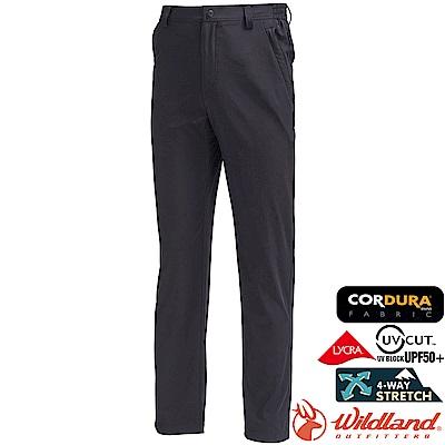 Wildland 荒野 0A71320-54黑色 男彈性CORDURA長褲/大尺碼