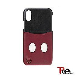 iPhone XR 6.1吋 海外限定 迪士尼 口袋造型 手機殼-米奇