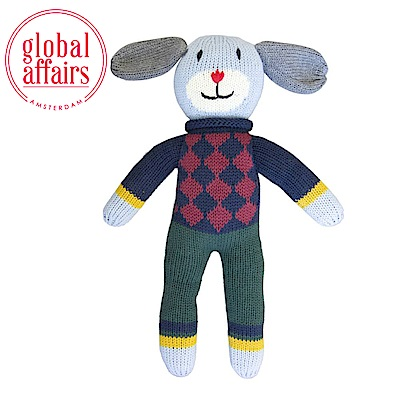 global affairs 童話手工編織安撫玩偶(36cm)-米洛狗