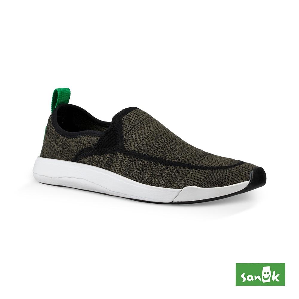 SANUK CHIBA QUEST編織素面拉環設計休閒鞋-中性款(橄欖綠)1091090 OLV