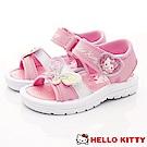 HelloKitty童鞋 繽紛蝴蝶涼鞋款 EI19221粉(中小童段)