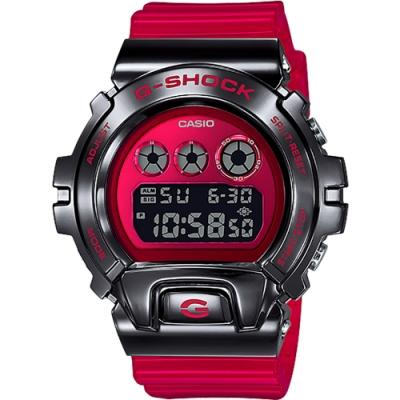 CASIO 卡西歐 G-SHOCK DW-6900 25周年金屬手錶(GM-6900B-4)