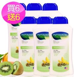 (即期品)美國INTIMATE保濕潤膚乳液/維他命A+E590ml買6送6