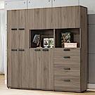 H&D 亞力士6尺組合鞋櫃