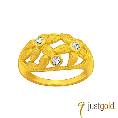 鎮金店Just Gold 祝福純金系列 黃金戒指