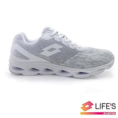 LOTTO 義大利 男 HYBRID 風動跑鞋 (白)