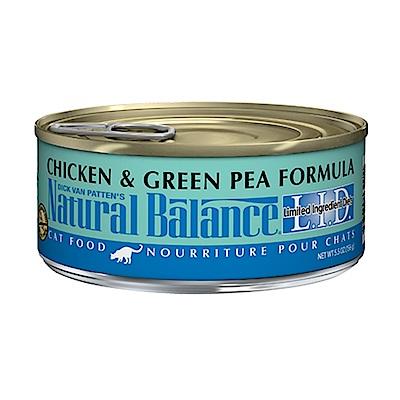 Natural Balance 低敏無穀系列貓用主食罐 5.5oz 六罐組