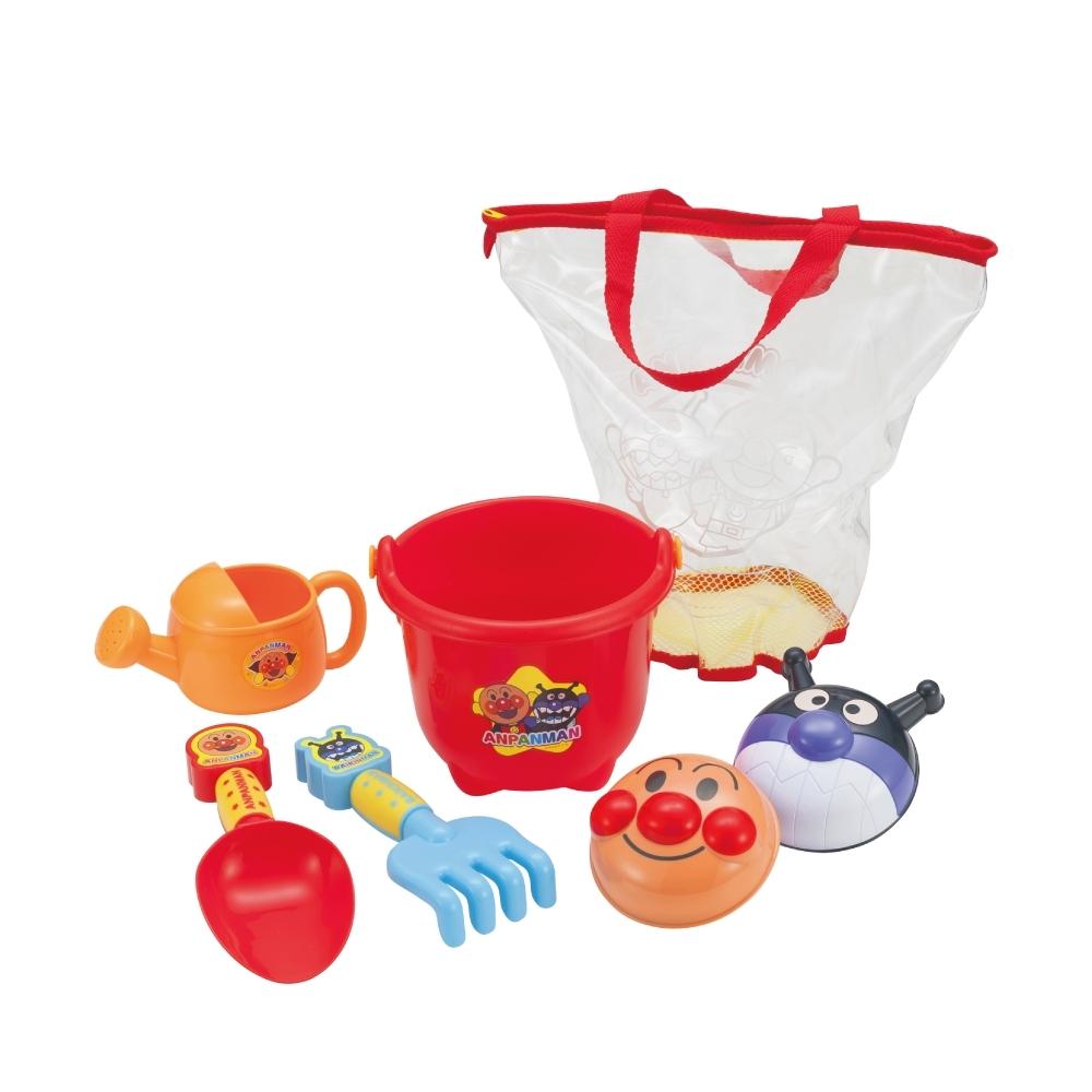 ANPANMAN 麵包超人-繽紛可攜式沙堆組(3Y+/益智玩具/卡通)