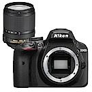 NIKON D3400+18-140mm VR 單鏡組*(中文平輸)